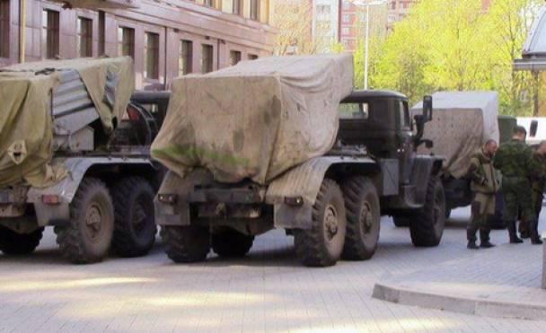 Что-то готовится: На окраинах Донецка боевики собрали десятки САУ и пушек