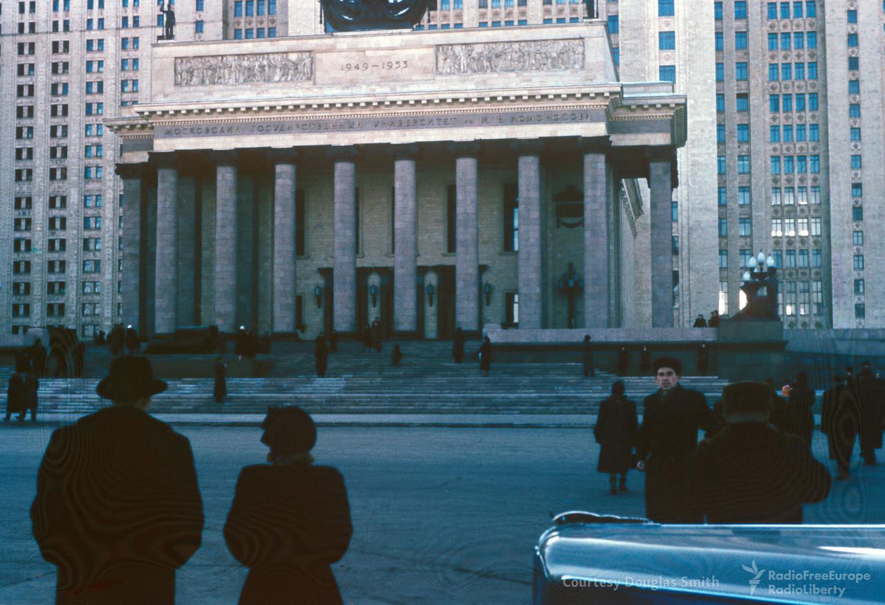 Москва в начале 50-х годов, глазами американского шпиона