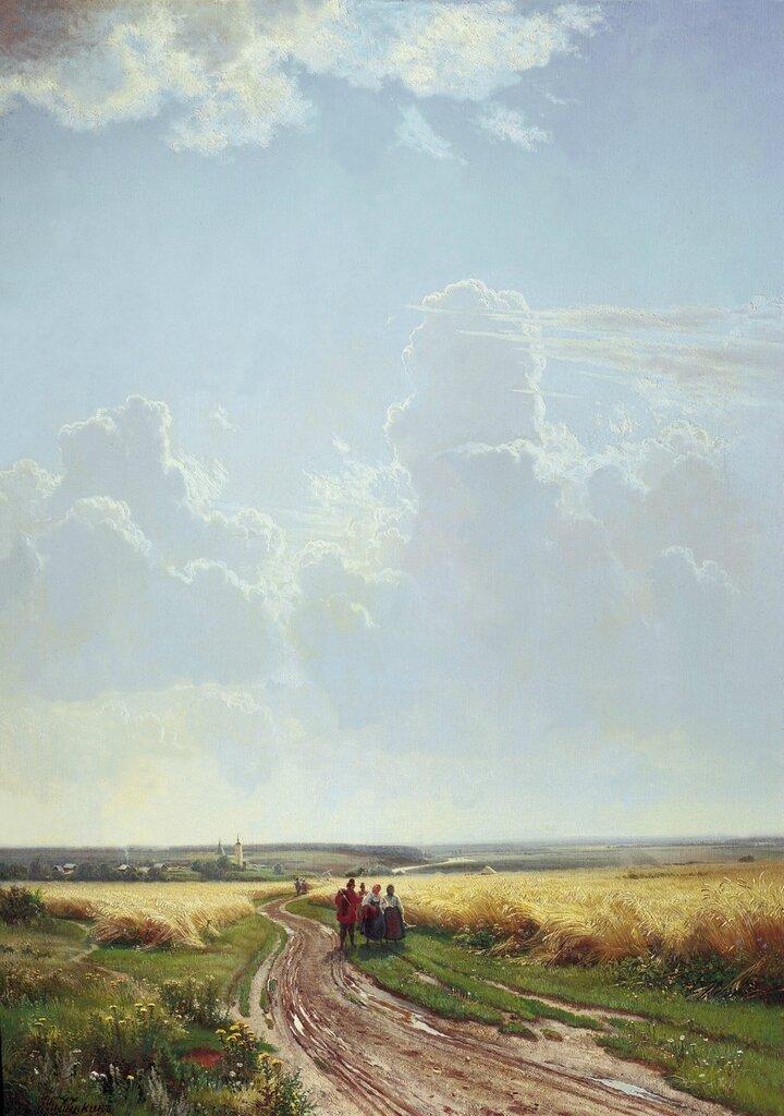 Полдень. В окрестностях Москвы. 1869