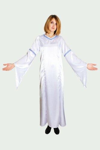 Женский карнавальный костюм Платье белое