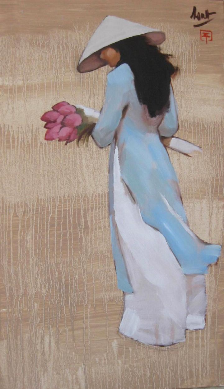 Картины художника Nguyen Thanh Binh