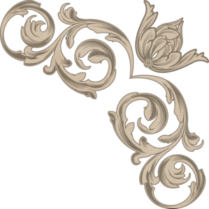 коричневые уголки