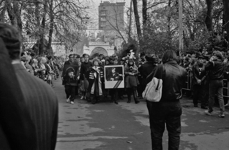 Похороны Игоря Талькова