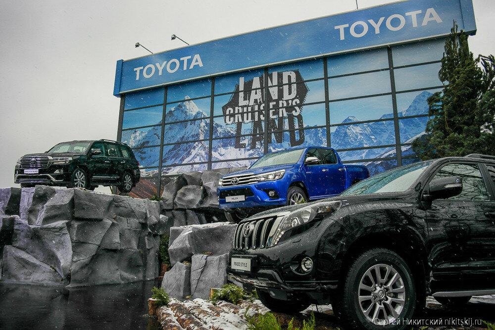 Главный автомобильный проект года - Land Cruiser's Land