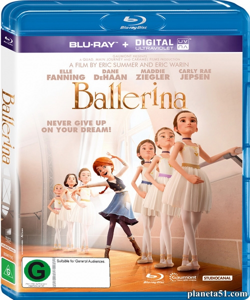 Балерина / Ballerina (2016/BDRip/HDRip)