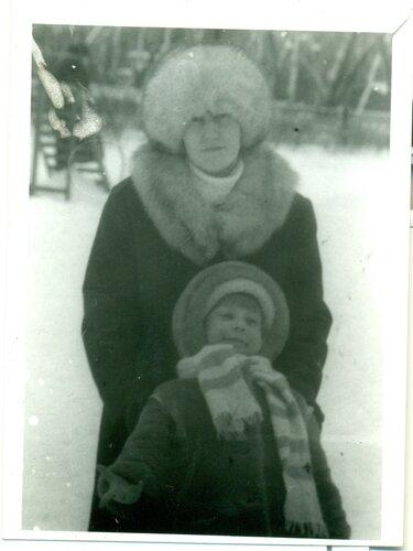 Я и мама в 1994 году
