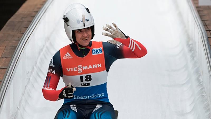 Саночница из Российской Федерации  стала победителем этапа Кубка мира