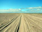 Дорога в Заполярной пустыне.