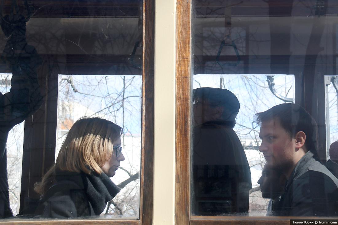 Журналист и путешественник Юрий Тюмин поделился с экологами репортажем о параде трамваев в Москве  - фото 23