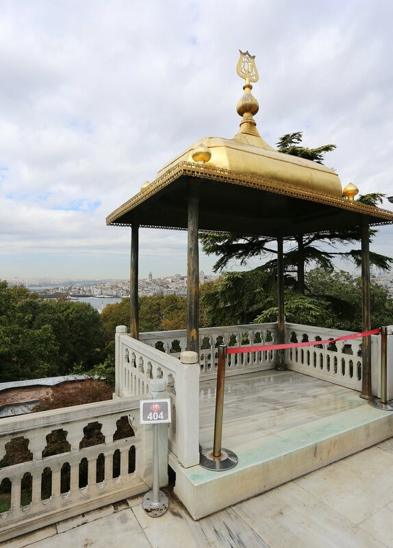 Стамбул, Топкапы. Павильон Ифтарийе (İftariye Köşkü)