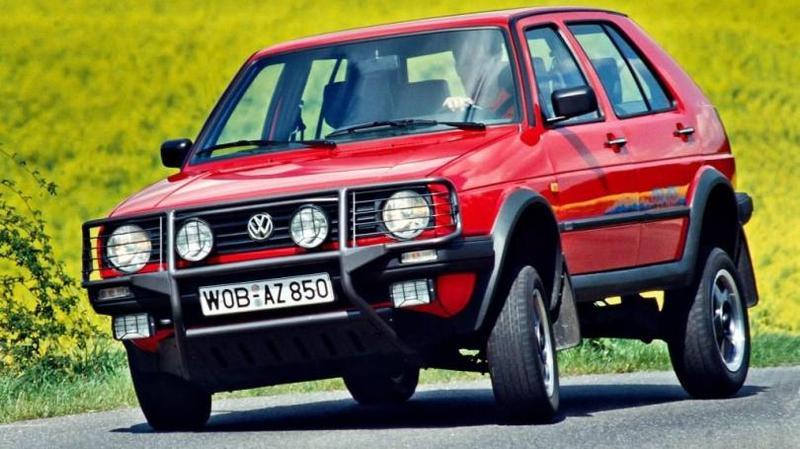 Volkswagen Golf Country '1990–1991