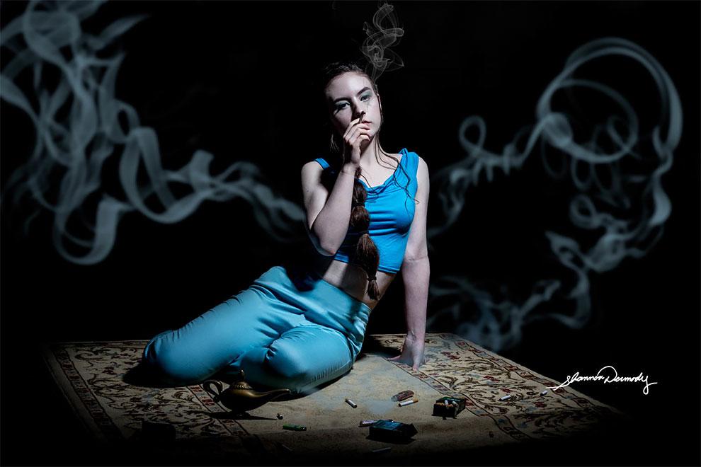 Жасмин и никотиновая зависимость.