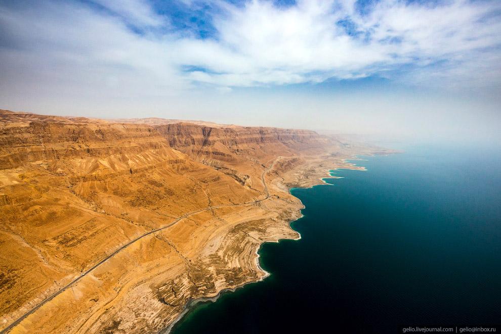 43. «Мёртвым» море назвали потому, что в его соленой воде нет жизни, кроме нескольких видов бактерий
