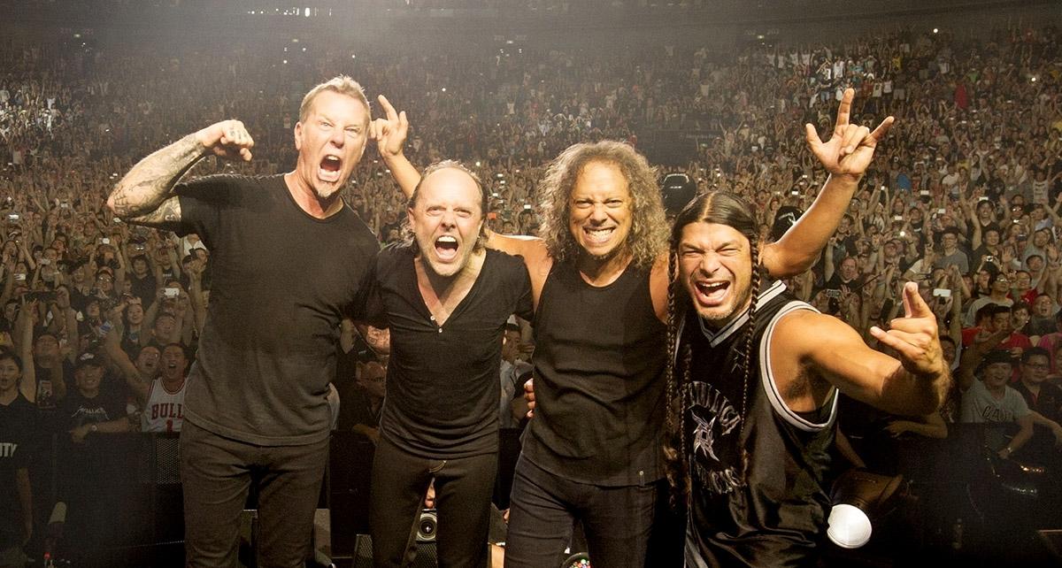 «Metallica» выступит вКиеве
