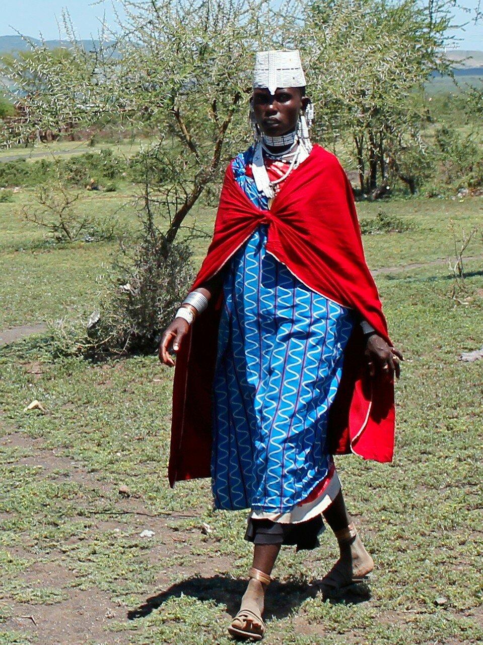 Масайская девушка