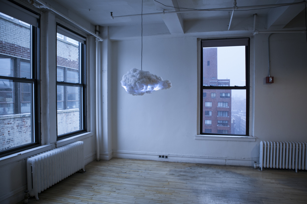 The Cloud: An Interactive Thunderstorm in Your House