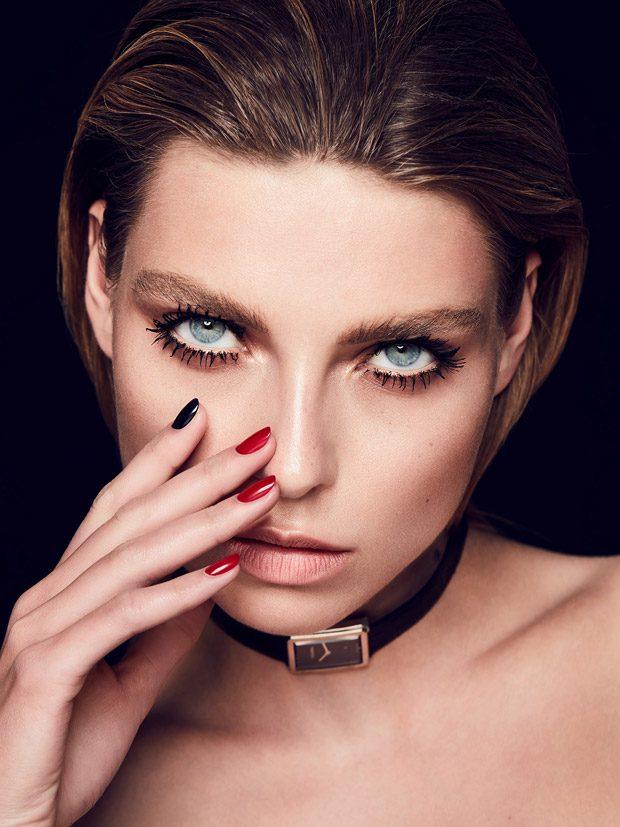 Aga Golebiewska Stars in Harper's Bazaar Poland x Chanel Beauty Story