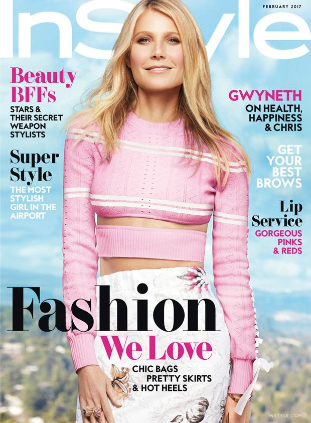 Gwyneth Paltrow Stars in InStyle US February 2017 Cover Story