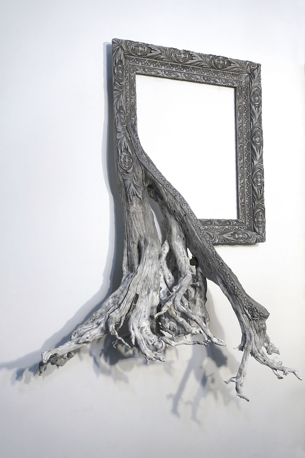 New Fusion Frames by Darryl Cox Fuse Gnarled Tree Roots with Ornate Picture Frames (9 pics)