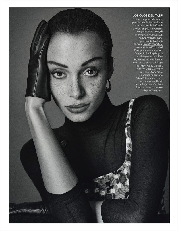 Website: www.vogue.mx Related Post Beyonce by Terry Richardson for Harper's Baz... Olga Maliouk by M