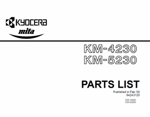 service - Инструкции (Service Manual, UM, PC) фирмы Mita Kyocera - Страница 2 0_138b5c_ccf45db0_orig
