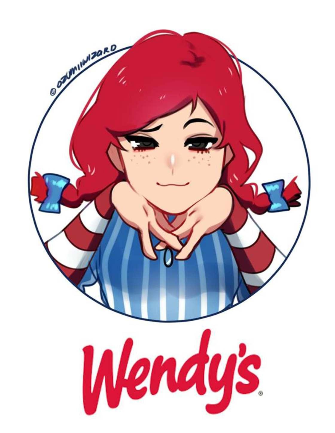 Uma ilustradora transforma marcas de fast-foods em personagens de manga
