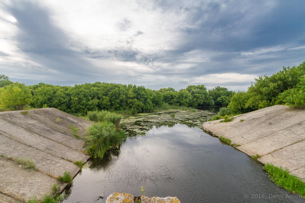 Калининск река Баланда плотина фото 6