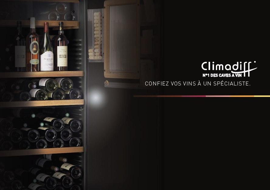 cliamdiff винные шкафы в Краснодаре - производство Франция