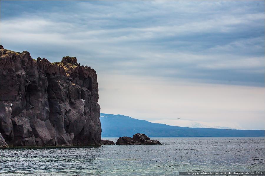 Бухта Янкито на острове Итуруп