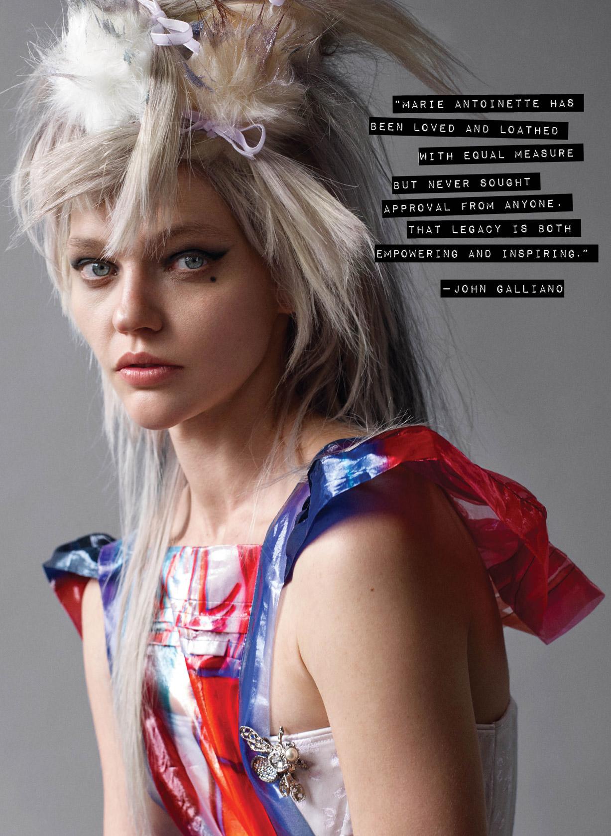 Саша Пивоварова / Sasha Pivovarova by Rory van Milligen - CR Fashion Book #9