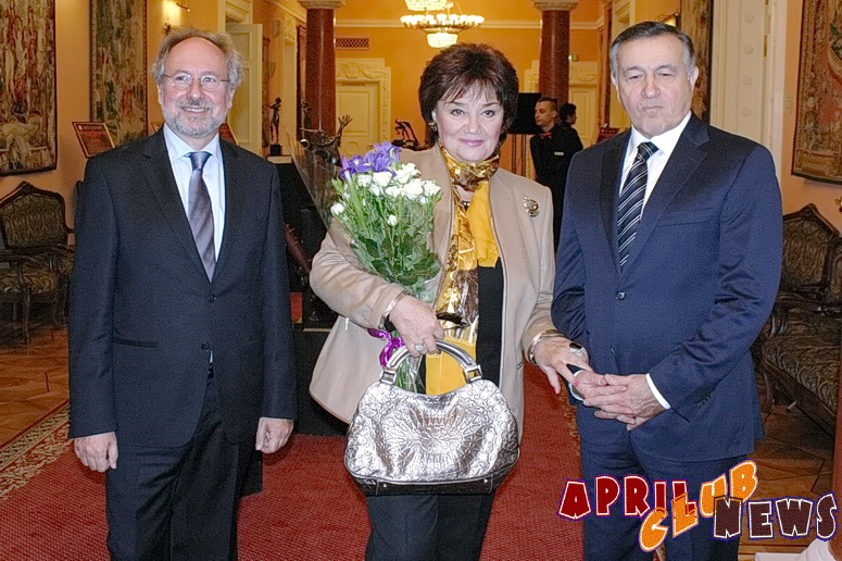 Винченцо де Виво, Тамара Синявская, Араз Агаларов