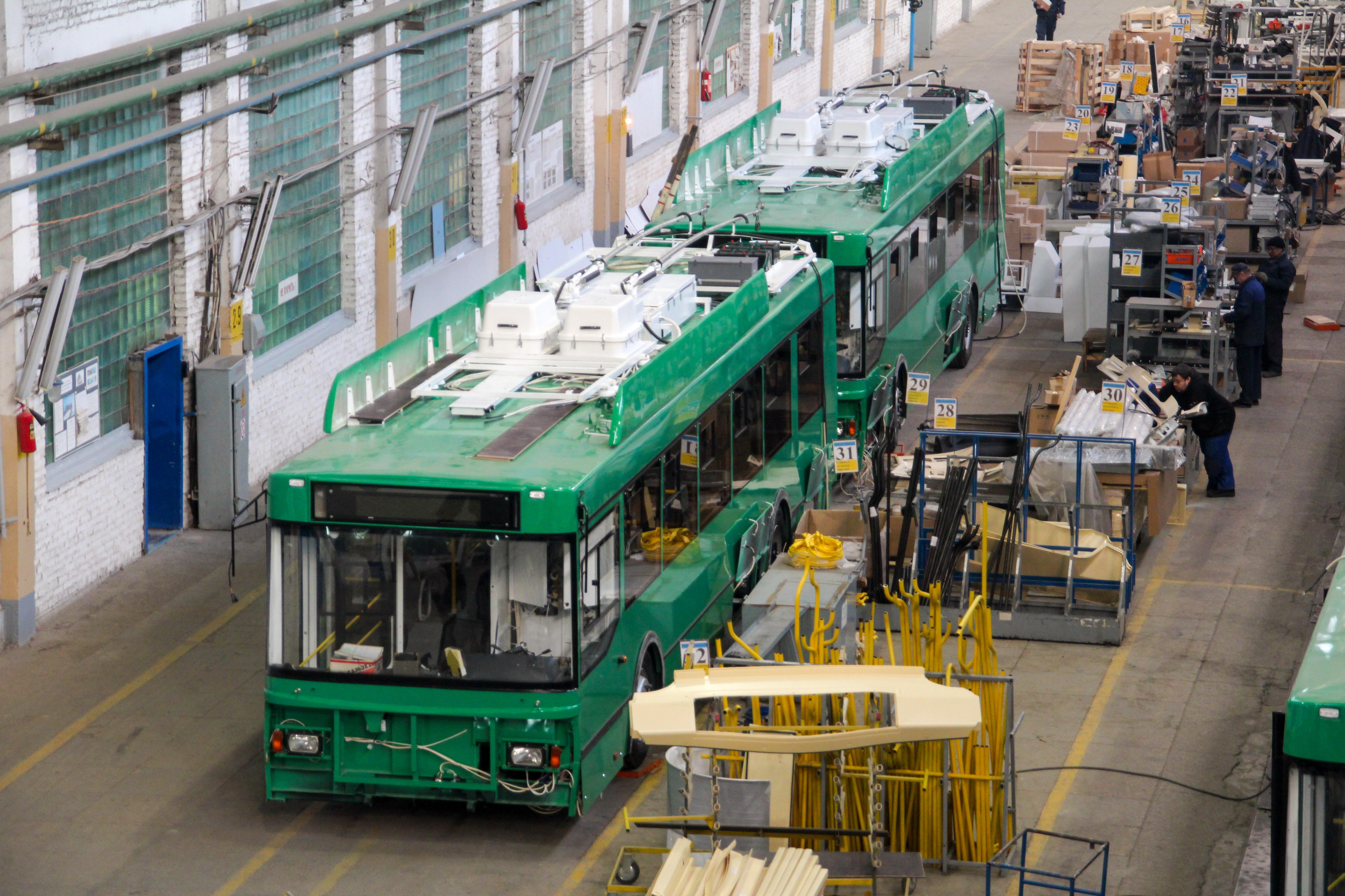 экскурсия на завод троллейбусов