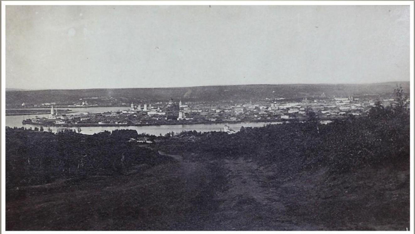 Вид c Кайской горы.1860-1870-е