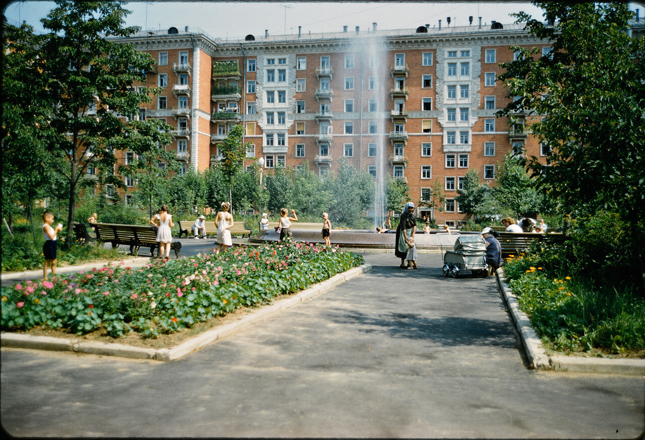 1964. Джон Репс в Москве