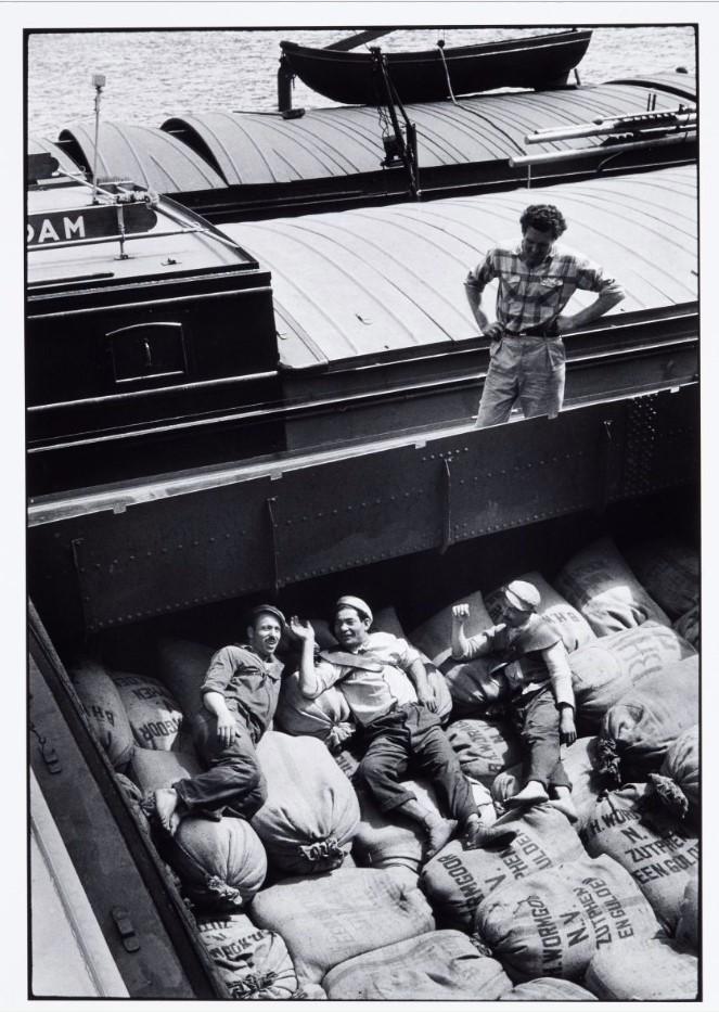 1957. Докеры. Париж