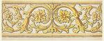РИСУНОК. Эскиз горизонтального бордюра, 1800-1830