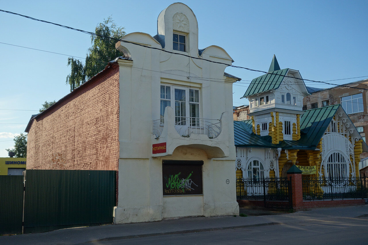 дом Лужина