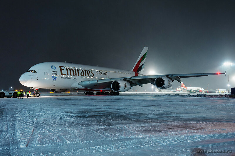 Airbus A380-861 (A6-EDT) Emirates 215_D706729