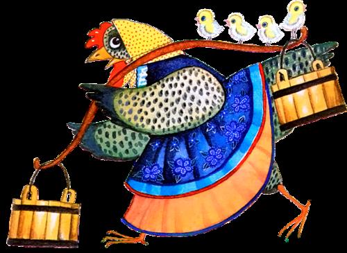 Rooster (chicken) vector Graphics