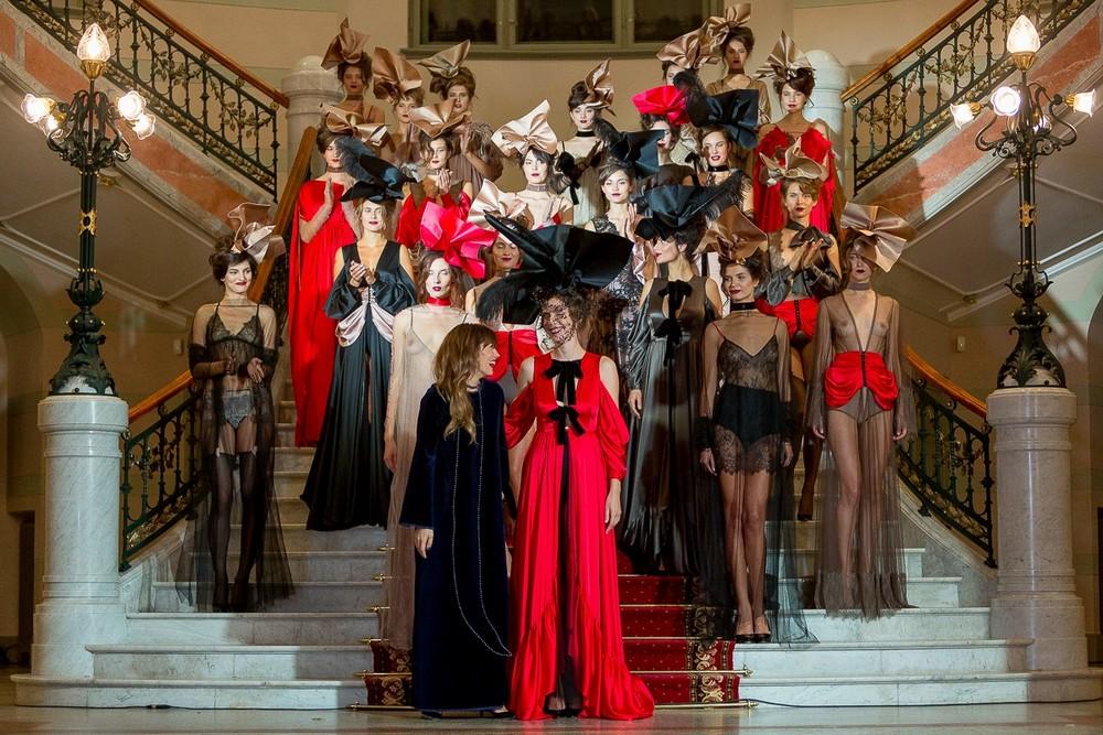 Соблазнительный показ на Рижской неделе моды