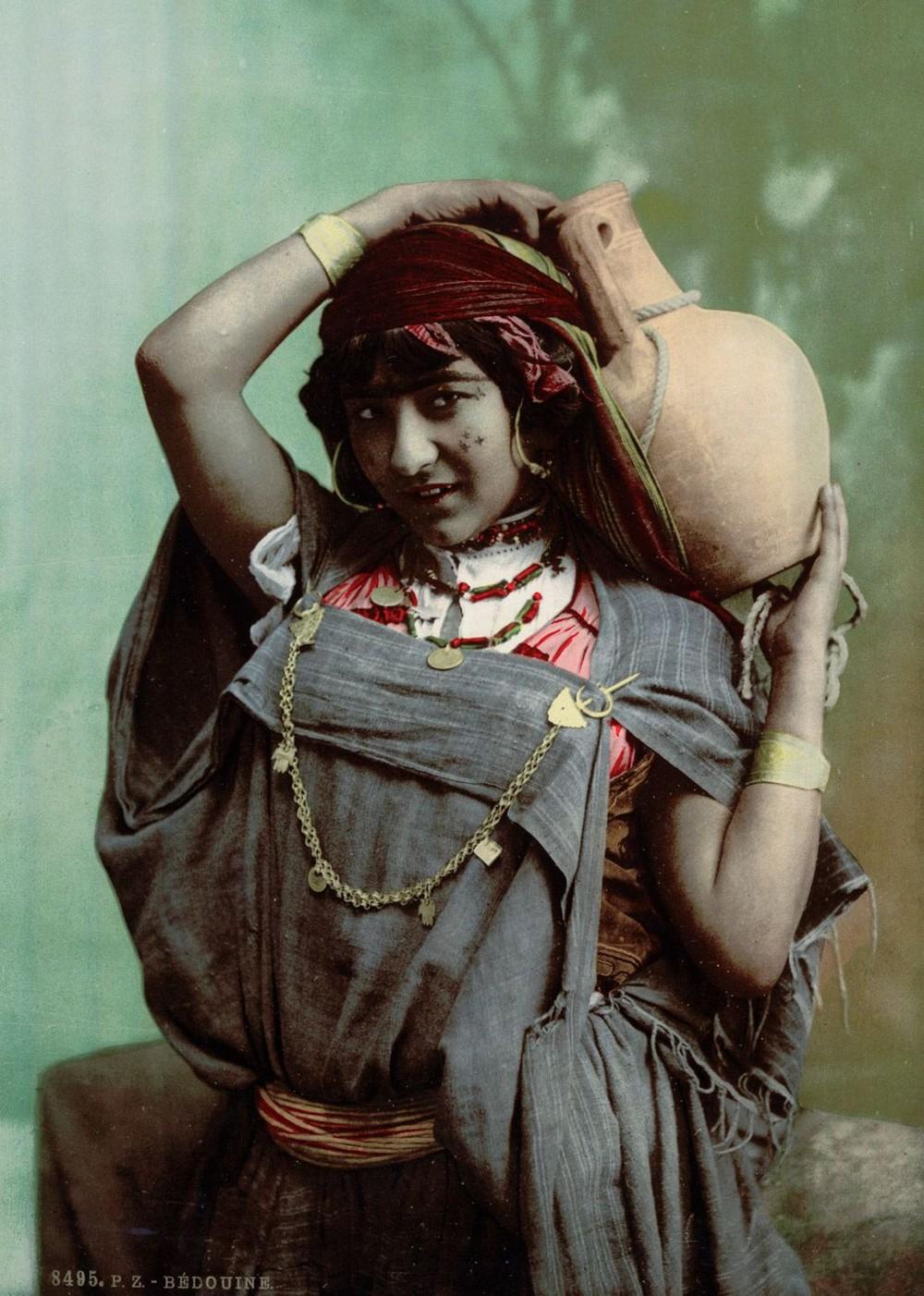 Цветные снимки Туниса конца XIX века