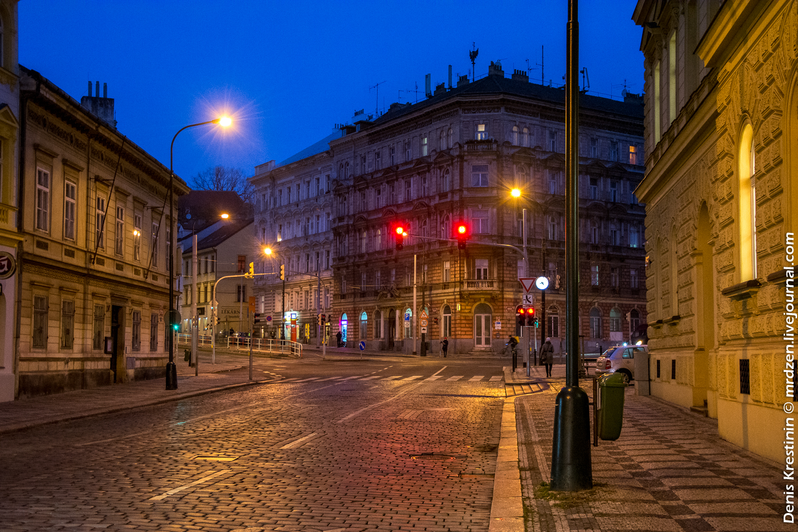Вечерние пражские улочки