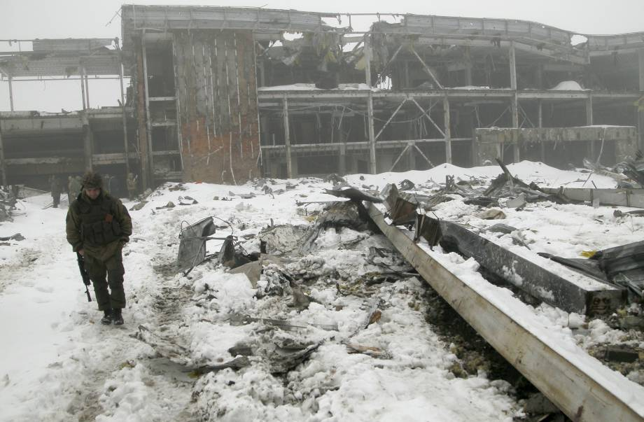 Боевики интенсивно поливают огнем позиции сил АТО из запрещенного вооружения: за сутки - 48 обстрелов, - штаб