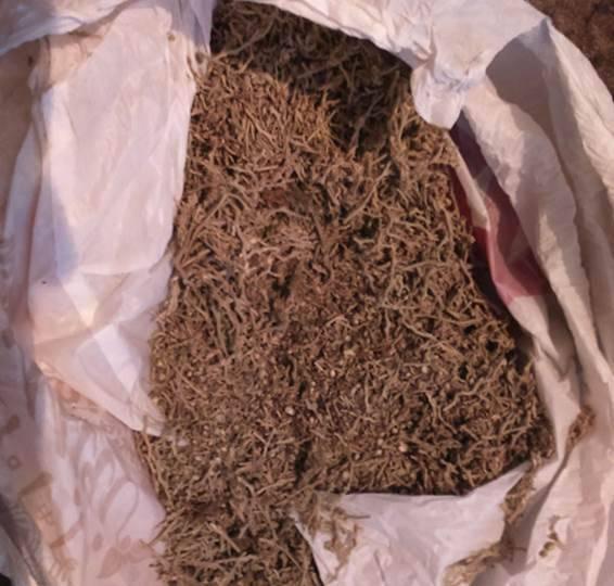 """Три килограмма """"травки"""" хранил дома житель Полтавщины. ФОТО"""