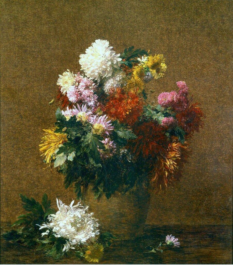 Henri FANTIN-LATOUR - Grand bouquet de chrysanthиmes.jpg