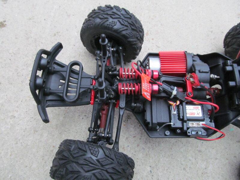 GearBest: FEIYUE FY- 05: полноприводная р/у машинка в масштабе 1:12