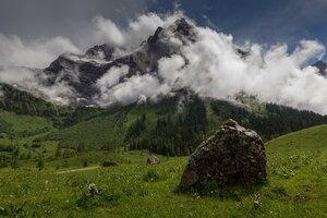 Альпийский пейзаж.