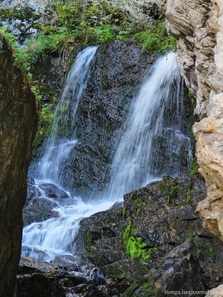Горный Алтай, Алтай, Чуйский тракт, Катунь, Бирюзовая катунь, Ая, Айский тракт, Черемшанский водопад