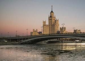Ледостав на Москве-реке