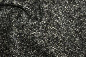 МТ341 990р-м Пальтовая ткань(ш-ть70%,виск30%).Ост.2,28м.Мягкий,пластичный,плотный,с ворсом.Серо-черныйДля пальто,жакетов,тд.Шир1,3м  (2).JPG